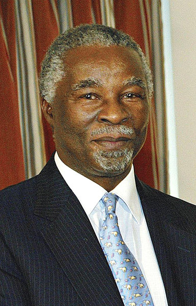 Former South Africa's president Thabo Mbeki. Image released under Creative Commons by Antônio Milena/ABr.