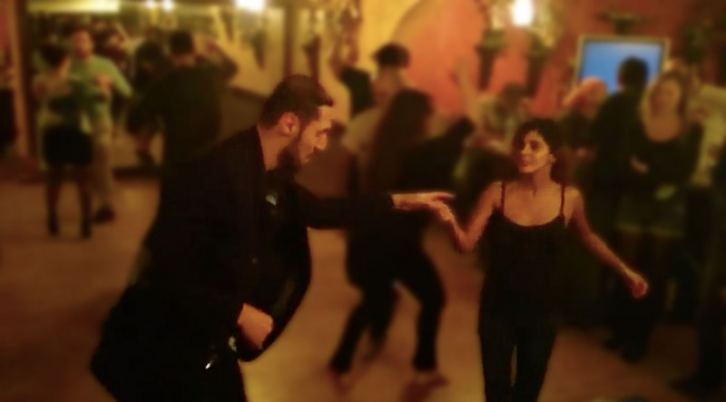 Aasim Rady and Rasha Sadek. Social Salsa Dancing in Egypt, January 2015. Image: YouTube