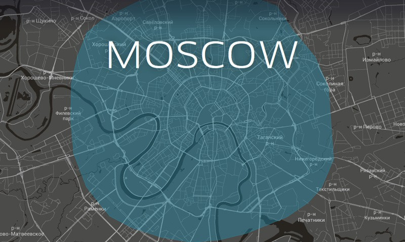 Uber is now cooperating with the Moscow authorities and sharing their car movement data with the local transportation agency. Images edited by Tetyana Lokot.
