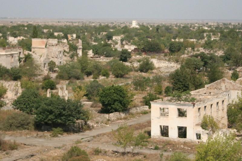 Agdam in Nagorno-Karabakh.