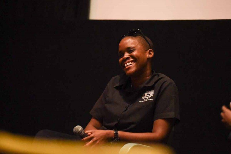 Jamaican filmmaker Allison Harrison. Photo courtesy the filmmaker, used with permission.