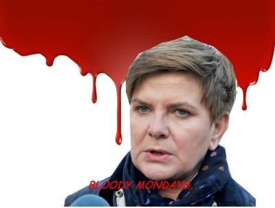Bloody mondays!!!