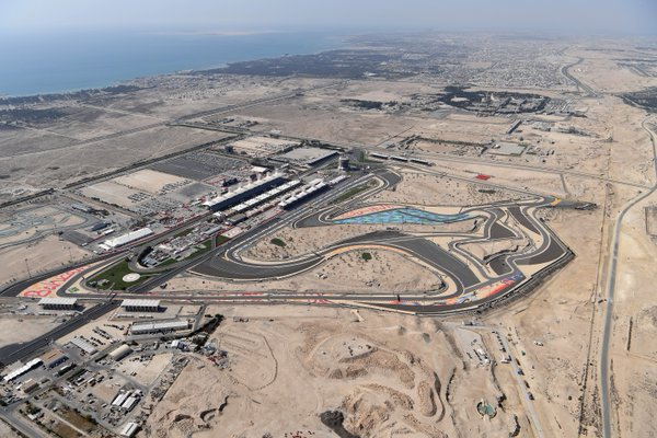 The Bahrain International Circuit hosted the F1 Grand Prix today. Photo credit: @BAH_Int_Circuit
