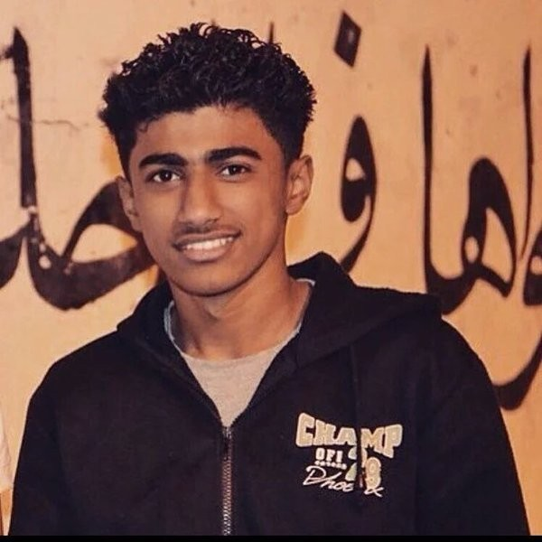 Bahraini Ali Abdul Ghani, a teenager killed in Bahrain