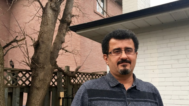 Shahram Rafizadeh was arrested, jailed and tortured after exposing human rights abuses in Iran during the late 1990s. Credit: Matthew Bell