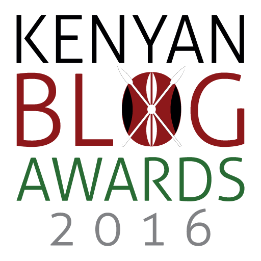 The logo of Kenyan Blog Awards 2016.