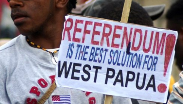 Let West Papua Vote Interbational Campaing. Picture by Free West Papua Campaign Twitter. Available to the Public
