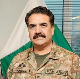 General Raheel Shareef , U.S. Army photo by Staff Sgt. Steven Schneider, public domain image from Wikimedia. Link: https://commons.wikimedia.org/wiki/File:Raheel_Sharif.jpg