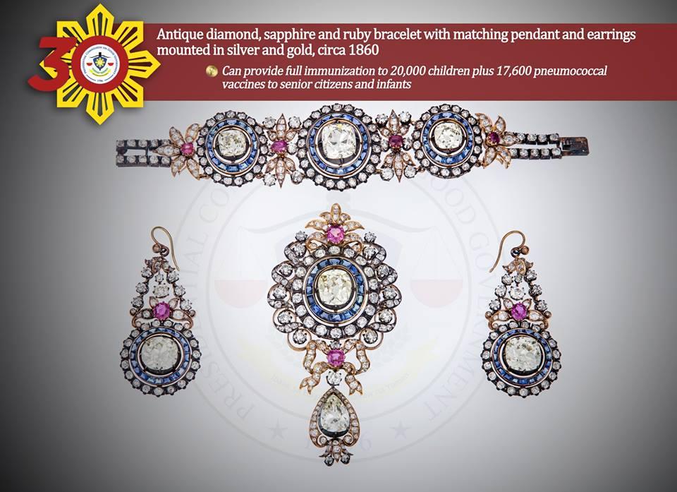 antique diamond sapphire