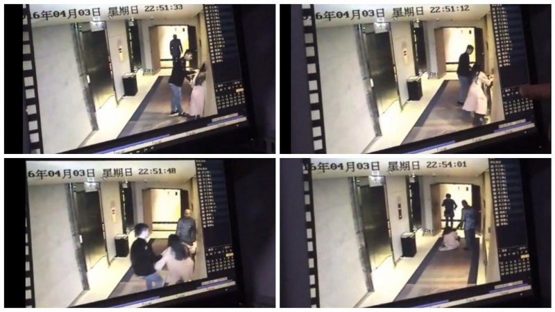 Instead of reporting on the Panama Papers, mainland Chinese media outlets make a minor assault incident as news headlines last week. Screen capture from CCTV video.