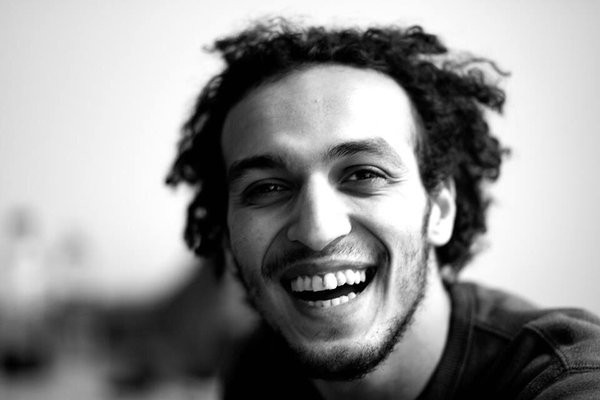 "Mahmoud Abou Zaid, AKA Shawkan, has been imprisoned for more than 900 days whilst covering the clearance of Cairo's ""Raba'a el Adaweya"" camp in support to ousted president Mohamed Morsi. Photo credits: @Ciluna27. Source: https://twitter.com/CiLuna27/status/718807611131490304"