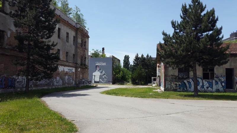 Part of the Sarajevo University Campus. Photo by Filip Stojanovski, CC BY.