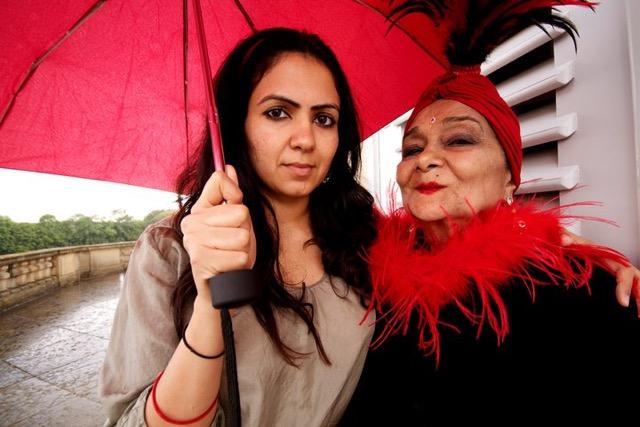 Jasmeen Patheja with her Grandma Indrajit Kaur.