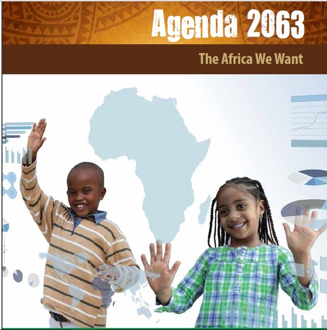 "Screen Shot from the African Union ""Agenda 2063"" website"