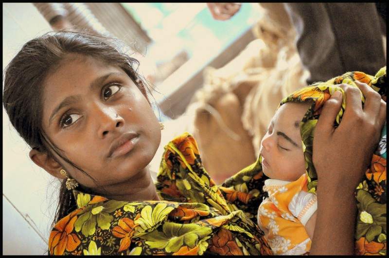 """Child Marriage""; image by flickr user SAM Nasim, used under a CC BY 2.0 license."