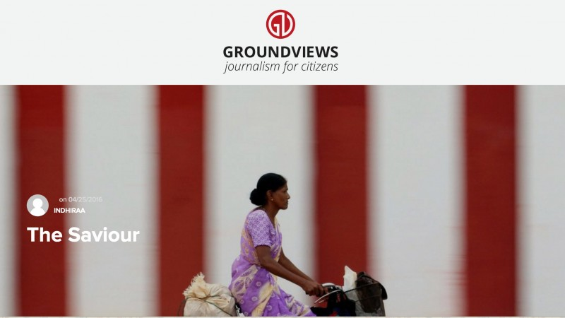 Screenshot from Groundviews website.