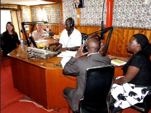 Electronic media houses in Uganda such as this one, Voice of Tooro FM, might lose their licenses for broadcasting opposition's Defiance Campaign. Creative Commons photo (CC BY 2.0) by the U.S. Mission Uganda.