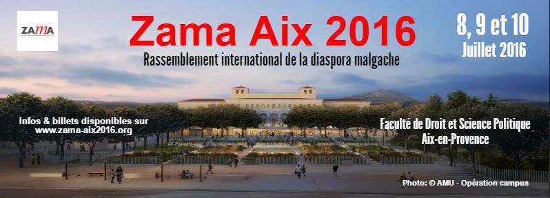 Bannière de la rencontre de la Diaspora à Aix-en-Provence (avec la permission des organisateurs)