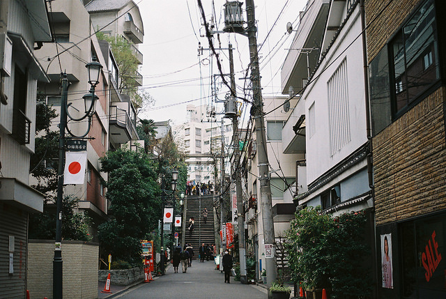 suburban japan