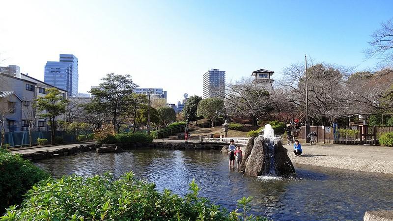 石川島灯台跡
