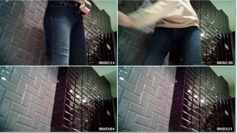 The preview of a video filmed on hidden camera.