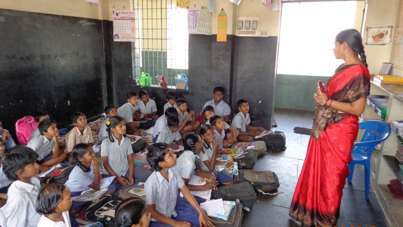 A Primary Education In Chennai, India. Image from Flickr by GlobalPartnership for Education. CC BY-NC-ND 2.0