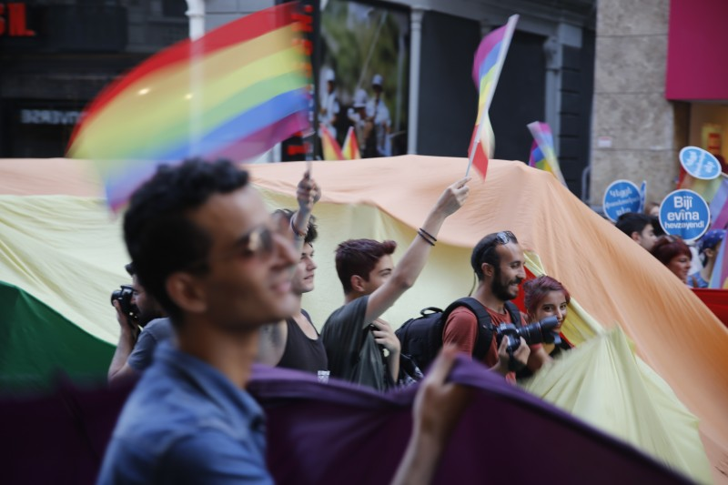 Scenes from PRIDE 2014 in Istanbul. Photo by Arzu Geybulla.