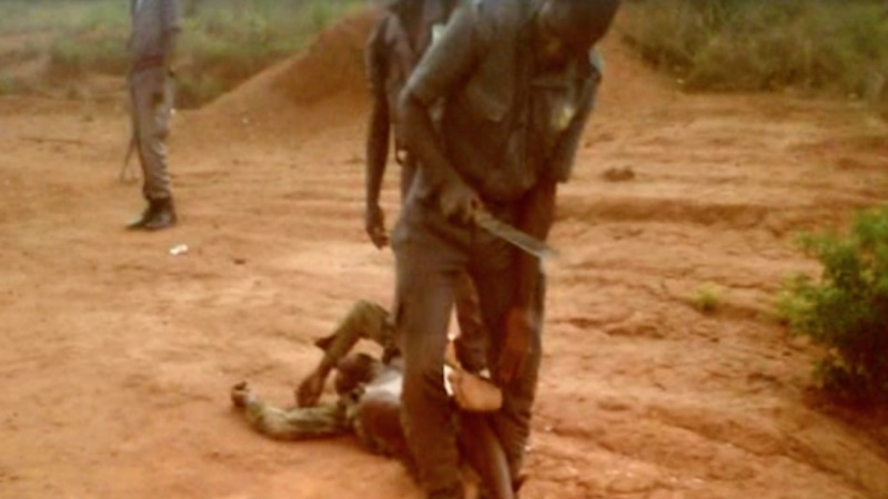 Machete Torture: More Human Rights Abuses in Diamond-Rich Region of Angola. Photo: Screen Shot from You Tube