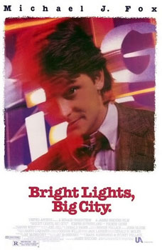 Bright Lights, Big City movie poster. Source: Wikipedia, fair use.