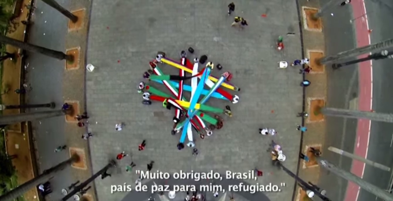 In a Music Video, Refugees Say Thanks to Brazil for Welcoming Them.
