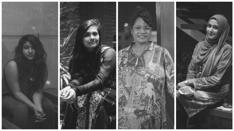 #TryBeatingMeLightly: A photo series featuring Pakistani women. Photos by Fahhad Rajper