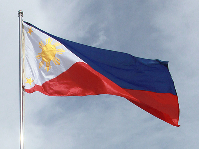 Philippine flag. Image from the official website of the Philippine government