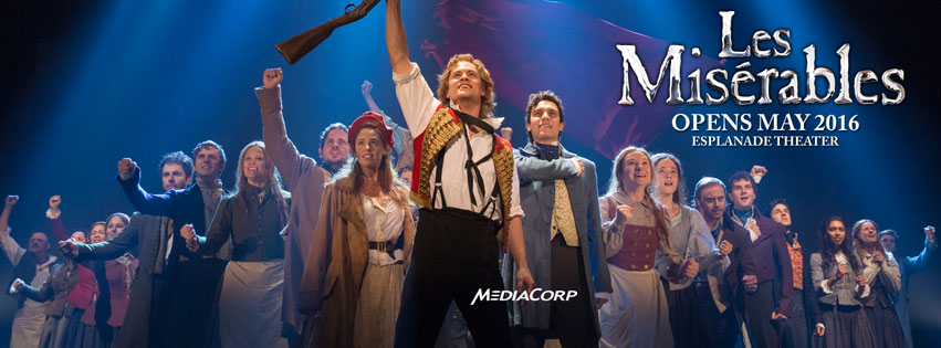 Photo from the official Facebook page of the Les Miserables production in Singapore