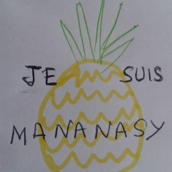 I am #Pineapple via Mirana (with permission)