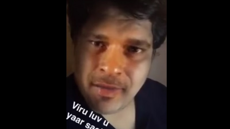 Screenshot from Tanmay bhat's controversial snapchat video about sachin tendulkar and Lata Mangeshkar