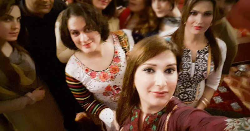 Transwomen celebrate Eid in Pakistan. Photo Courtesy Trans Action Pakistan.