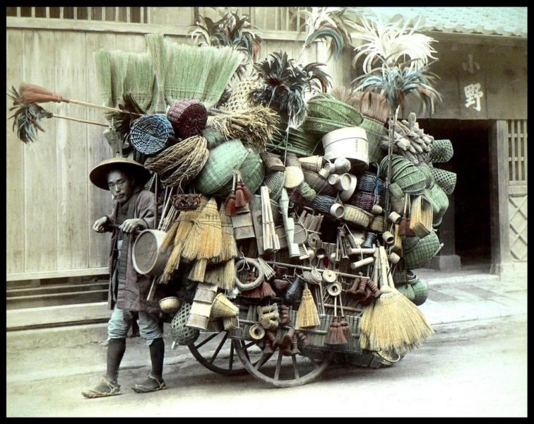 Broomseller, Japan
