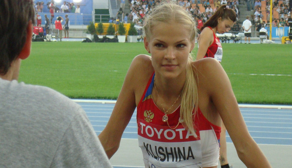 Darya Klishina. Photo: Jens-Olaf Walter / Flickr / CC 2.0