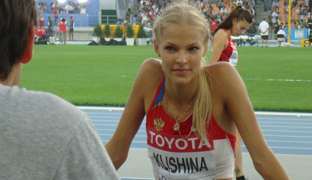 Darya Klishina. Photo: Jens-Olaf Walter / Flickr / CC 2.0