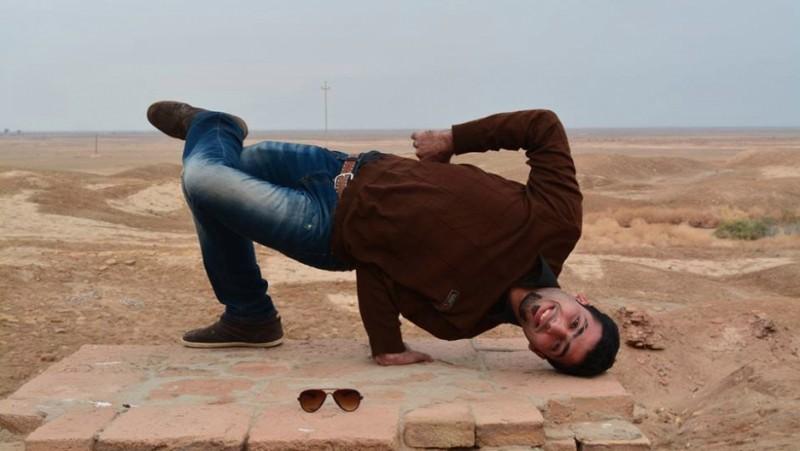 "Adel Al-Jaf, known by his stage name ""Adel Euro."" Credit: Jonathan Hollander/Facebook"