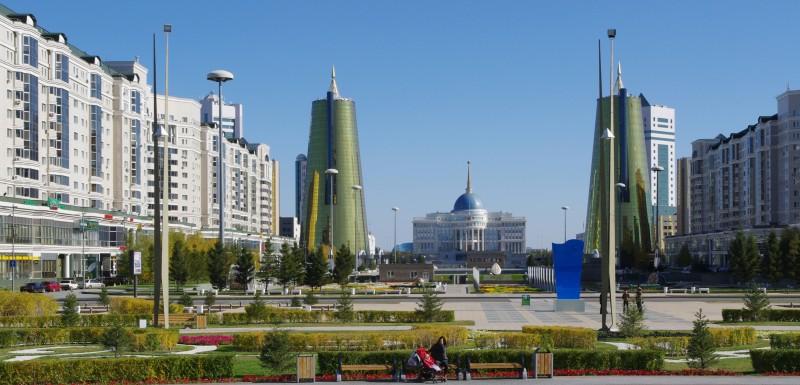 Astana. A million strong.