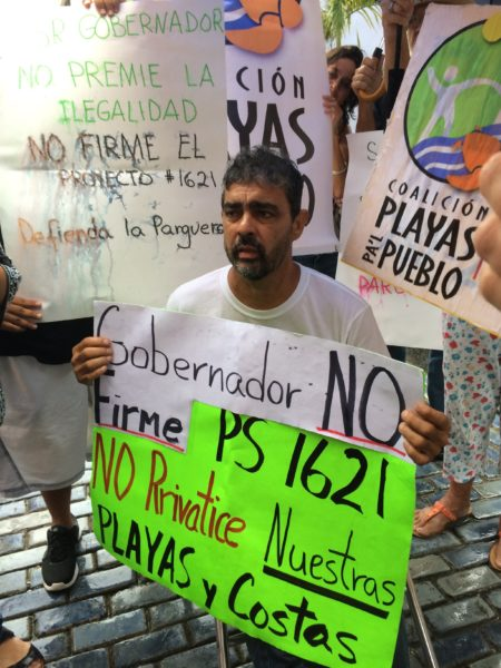 Tito Kayak started a hunger strike to protest the proposed bill, but the bill was vetoed later by the Governor. Photo courtesy Diana Valle.
