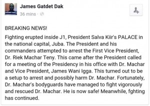 James Gatdet post
