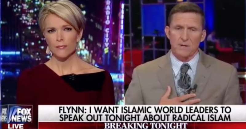 Retired Lt. General Michael T. Flynn appears on Fox News. Image: YouTube