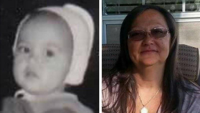 Элла Пуркисс в двухлетнем возрасте, когда она переехала из Южной Кореи в Даллас после удочерения. Сейчас ей 62 года и она собирается принести присягу на верность для получения гражданства США. Фото предоставлено Эллой Пуркисс