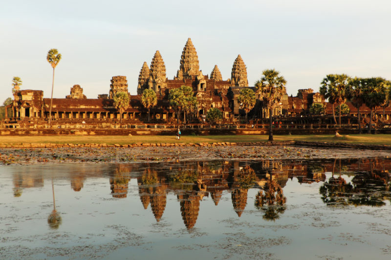 Angkor Wat. Photo by Juan Antonio F. Segal. Flickr. CC License