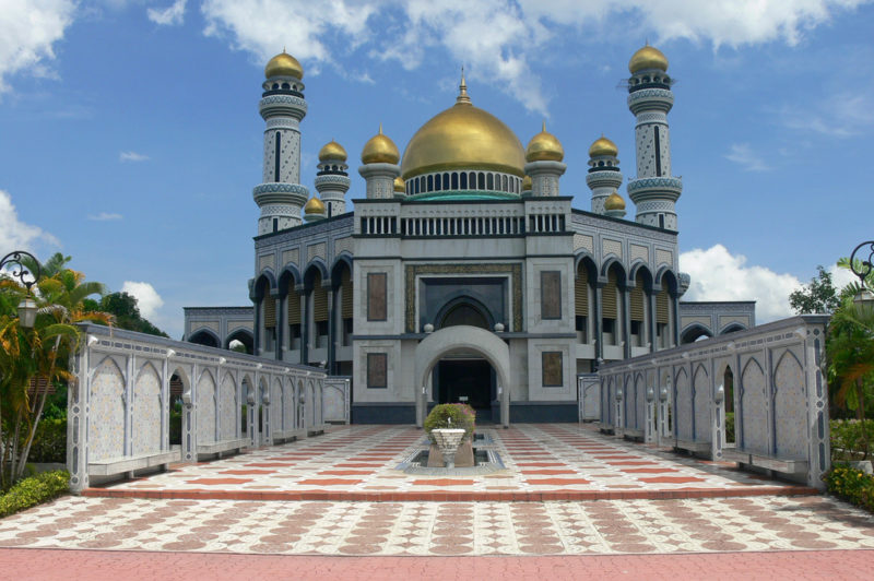 Jame' Asr Hassanil Bolkiah Mosque. Photo by MyBukit. Flickr. CC License