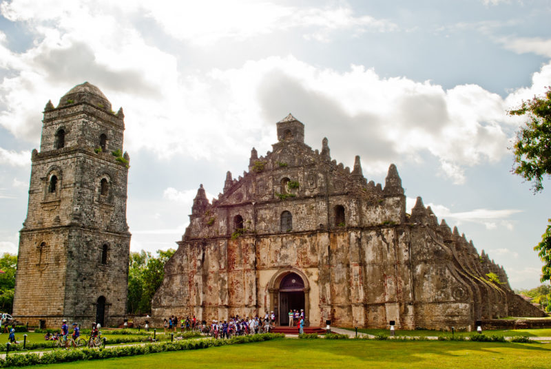Paoay Church. Photo by Ilocos Norte. Flickr. CC License