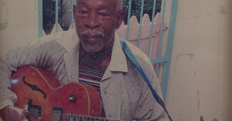 """The great Fitzroy Coleman"" -- photograph of an existing image of the chord master, taken by Robin Foster and used with permission. Original photographer unknown."