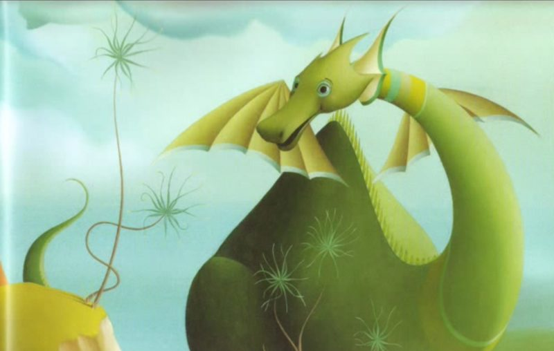 Puff the Magic Dragon as illustrated in a video on uploaded onto YouTube by ThatIsSoDeck.